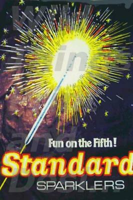 AD//Sign Style Vintage Retro Metal Plaque; standard Firework/'s Remember the 5th