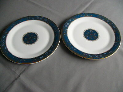 "2 x Royal Doulton Carlyle 10.5"" Dinner Plates"