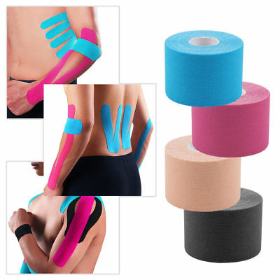Kino Pre Rolls Kinesiology Tape Sports Physio Muscle Strain Injury Support 5cm