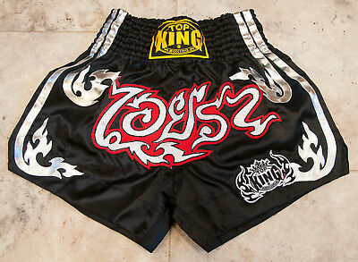 """NEW - Top King Muay Thai Boxing Kick Boxing MMA Shorts Size XL Fits 29"""" to 32"""""""