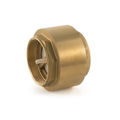 """New Single Check Valve 110°C, 3"""" BSP, hot, cold or oil, water, female, BRASS"""