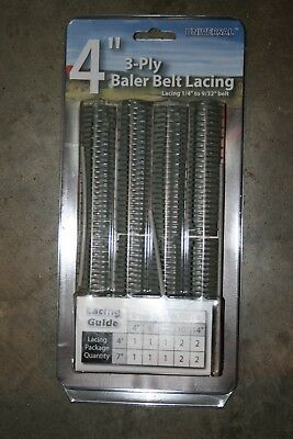 "Apache 4"" 3 ply Baler Belt Lacing"