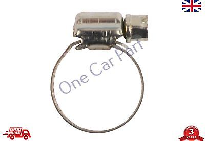 Jubilee Clips Stainless Steel Secure Fastening Hose Clamps Worm Drive, 16 - 23mm