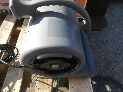 B-Air VENT VP-50 Air Mover Carpet Dryer Floor Fan for Water Damage (3B/1718/20)