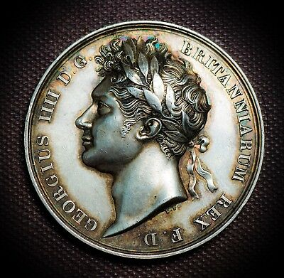 George IV Coronation Medal by Pistrucci