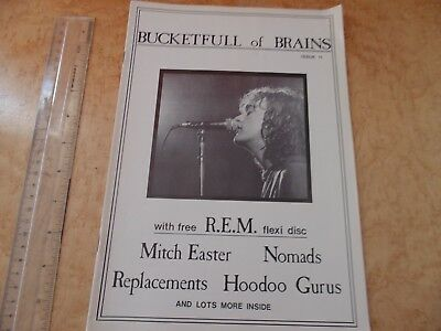 Bucketful Of Brains Fanzine No.11 R.e.m.,mitch Easter,replacements,nomads.