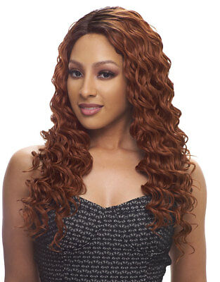 EMILY - Brazilian Scent Lace Wig - Human Hair - Long, Wavy - Janet Collection