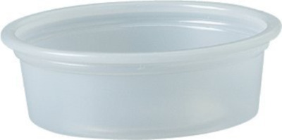 Solo Plastic Cups 0.5 oz Clear Portion Container for Food, Beverages, Crafts of