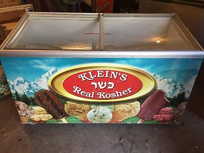 Used Commercial Ice Cream Freezer ~ Klein's Real Kosher Branded ~ Works or Parts