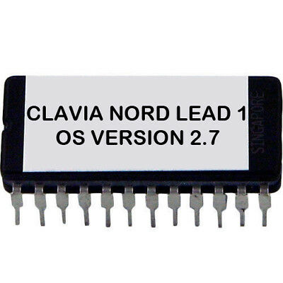 Clavia Nord Lead 1 - Final OS version 2.7 Eprom for Both Keyboard or Rack