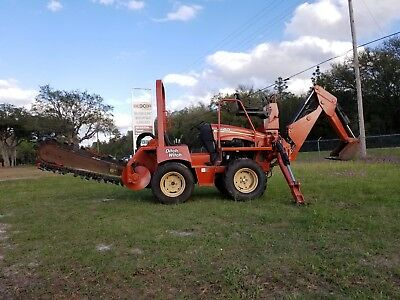 Ditch Witch Rt40 4X4 Trencher, Backhoe Combo, Deutz Diesel, Ready To Work!