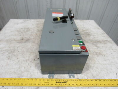 Allen Bradley 512-AJB-B1F-1-6P-24R Size 0 Combination Starter Fused Disconnect