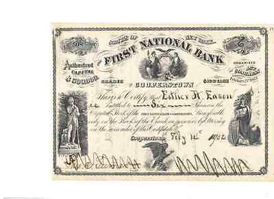 First National Bank of Cooperstown  1902