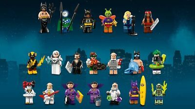 **NEW** The Lego Batman Movie SERIES 2 Complete (SET OF 20) 71020 Rare Minifigs