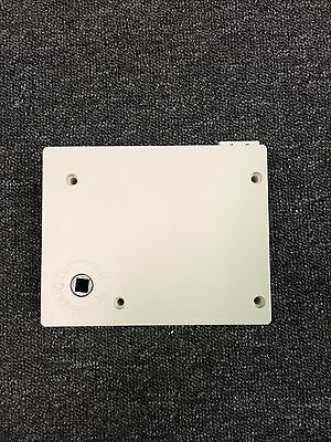 New White Roller Shutter Winder Box With Strap* Standard Post*