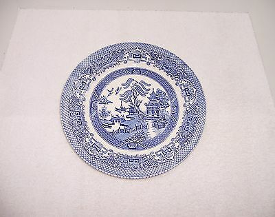 EIT English Ironstone Tableware Blue Willow Dinner Plate