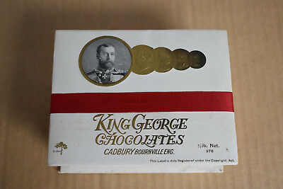 Vintage 1930s Cadburys King George Chocolates Box