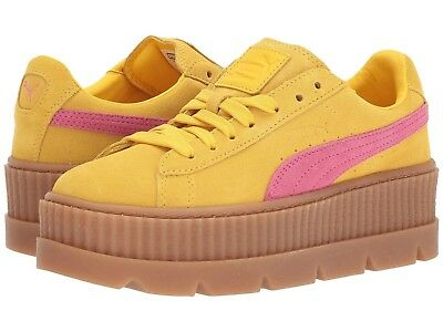56c5bf04a5d599 New Women s PUMA Cleated Creeper Suede Fenty Rihanna Sneaker 366268-03 MSRP   160