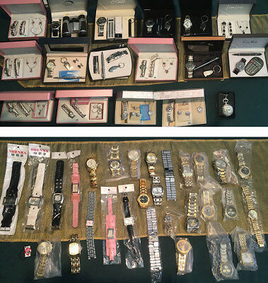 ***bulk 45+ Watches & Gift Sets - Sell At Markets, Various Brands, In Packs***