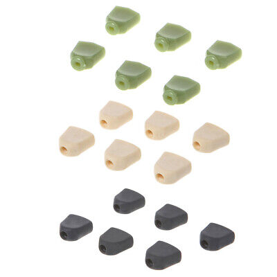 6Pcs Replacement Trapezoid Plastic Guitar Tuning Peg Tuners Machine Heads Button