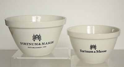 Fortnum And Mason Cream Pudding Bowl Royal Falcon Weatherby Hawley England x 2