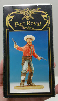 NIB Fort Royal Review FRR53 120mm Gunfighter Tombstone Curly Bill Metal Resin