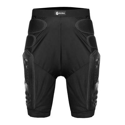 Motorcycle Skating Armor Shorts Lightweight Padded Cycling Ski Protective Pants