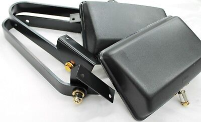 Toyota Landcruiser Mirror Set 70 Series Cab Chassis Style New Genuine Pair 1990>