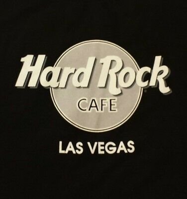 Hard Rock Cafe Las Vegas T Shirt Black Size XL
