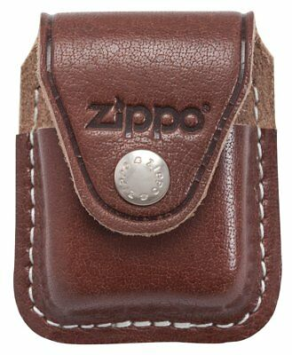 Zippo LPCB Lighter Pouch with Clip, Brown, New, Free Shipping