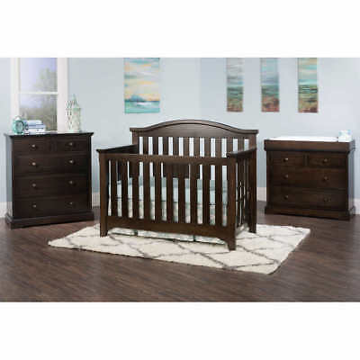 Paisley 3-piece Convertible Crib, Dresser and Chest - Nursery Collection
