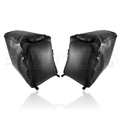 ea831829bf Status Racing Rear Storage Compartment Bags for the Polaris Slingshot (Pair)