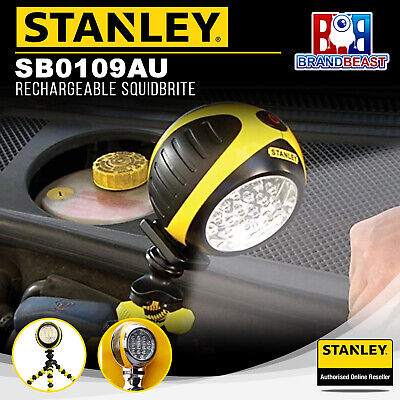 Stanley SB0109AU Rechargeable SquidBrite Work Light lamp 20 Ultra Bright LED