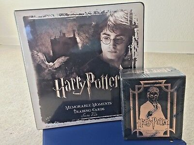 Harry Potter Memorable Moments (MM) Series 2 Sealed Hobby Box with Binder