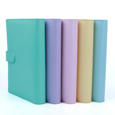 A5 Weekly Monthly Planner Diary Notebook Macaron Colour Agenda Planner Diary