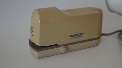 Maruzen M-8000 electric stapler