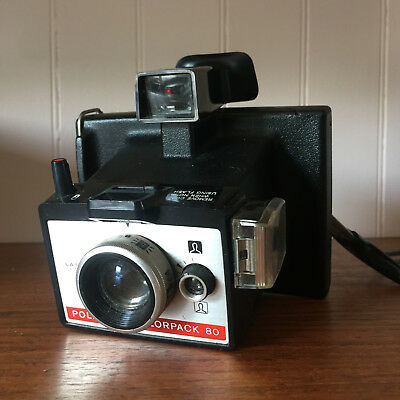 vintage camera polaroid colorpack 80 working instant film camera