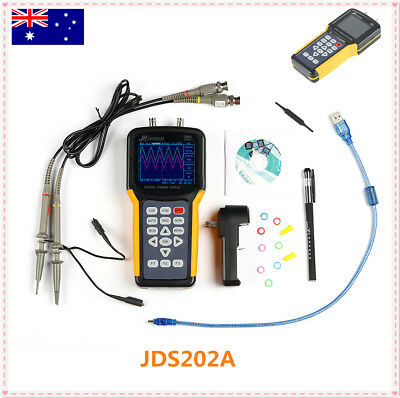Handheld Digital Oscilloscope Scope Meter Multimeter JDS202A Signal Generator 1'