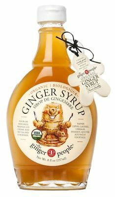 The Ginger People | Organic Ginger Syrup 237ml