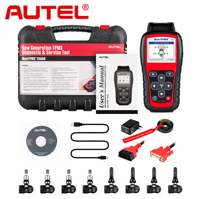 Autel TS508K TPMS Auto Diagnostic Service Tool Code Reader Program ECU Key FOB