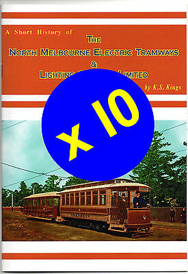 Books:A Short History of The North Melbourne Electric Tramways & Lighting Co Ltd