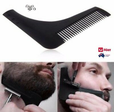 The Beard Bro-Beard Shaping Comb Tool For Perfect Lines Cut Template