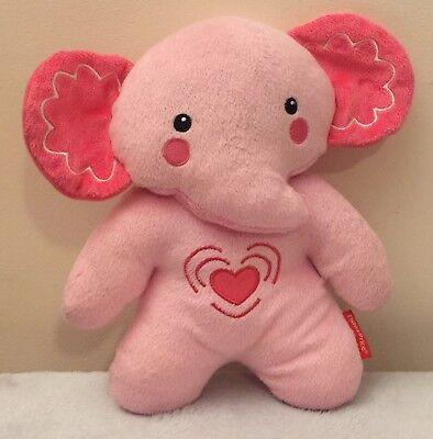 Fisher Price Calming Vibrations Soother Elephant Plush Toy - Pink