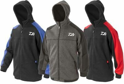 Brand New 2018 Daiwa Hoody / Hoodie Blue/Red/Grey - All Sizes Available