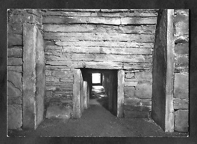 C1970s View: Entrance to Central Chamber, Maeshowe, Orkney