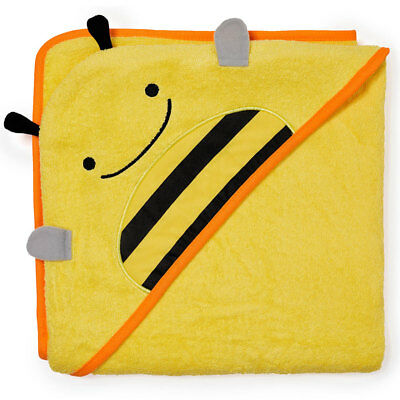 NEW Skip Hop Baby Toddler Hooded Towel - Cute Yellow Bee