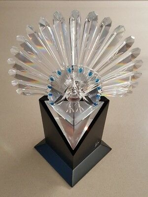 Swarovski Silver Crystal - The Peacock Limited Edition 1998