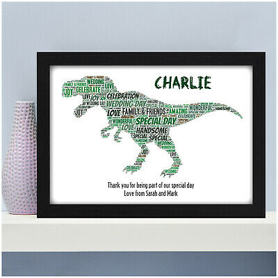 Page Boy Thankyou Gift Dinosaur Thank You Present for Page Boy Ring Bearer Gifts