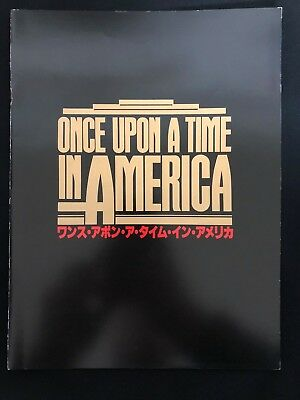 Once Upon a Time in America 1984 Movie Program Japanese brochure