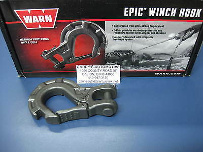 92089 Genuine Warn Replacement Forged Epic Hook E-Coat ATV UTV Winch 5000 Lbs